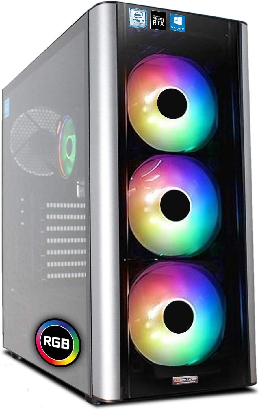 Dcl24 De Gaming Pc Rgb Level 20 Intel I9 9900kf 8x3 6 Computer Zubehör