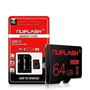 AZLMJXH Tarjeta SD, 8GB 16GB 32GB Clase 10 de 64GB Tarjeta de ...