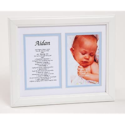Elijah - First Name Print for a Boy - Origin, Meaning, Personality Traits: Handmade