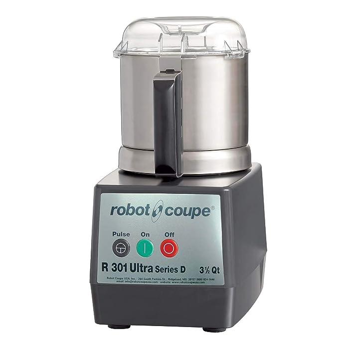 Robot Coupe R301 ULTRA B Commercial 3.7-Liter Food Processor, Stainless Steel Bowl, 120v, ETL-Sanitation