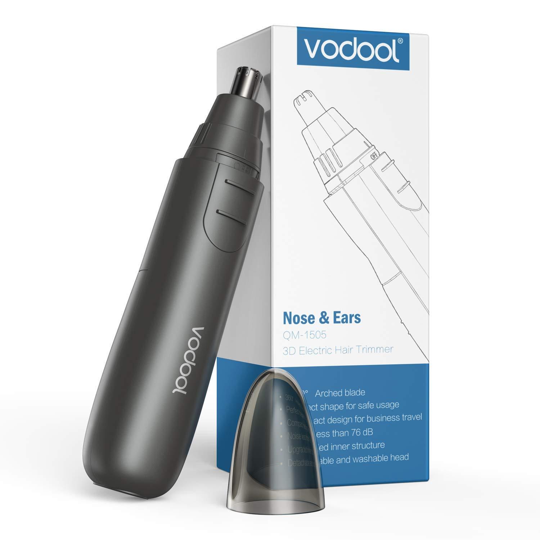 Nose Hair Trimmer, Vodool Ear Hair Trimmer Painless Trimming Electric Nose Ear Hair Trimmer for Men Women