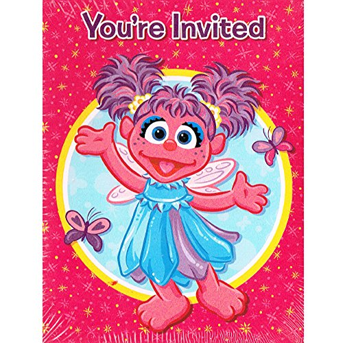 Amscan Abby Cadabby Invitations & Thank You Cards (8ct Each) ()