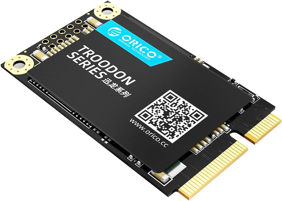 ORICO M200 3D NAND SSD Hard Solid Drive- mSATA - SATA III - 6Gbps-512GB Internal Solid State Drive for Desktop Laptop