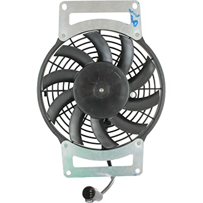 DB Electrical RFM0027 New Radiator Cooling Fan Motor For Kawasaki Kvf750 Brute Force Atv 2012 2013 2014 12 13 14 70-1016 59502-0554 463751: Automotive