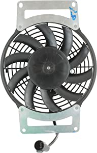 DB Electrical RFM0027 New Radiator Cooling Fan Motor For Kawasaki Kvf750 Brute Force Atv 2012 2013 2014 12 13 14 70-1016 59502-0554 463751