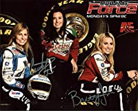 Courtney Force & Brittany Force NHRA Drag Racing Autographed 8x10 Photo - PSA/DNA Authentic from Sports Collectibles