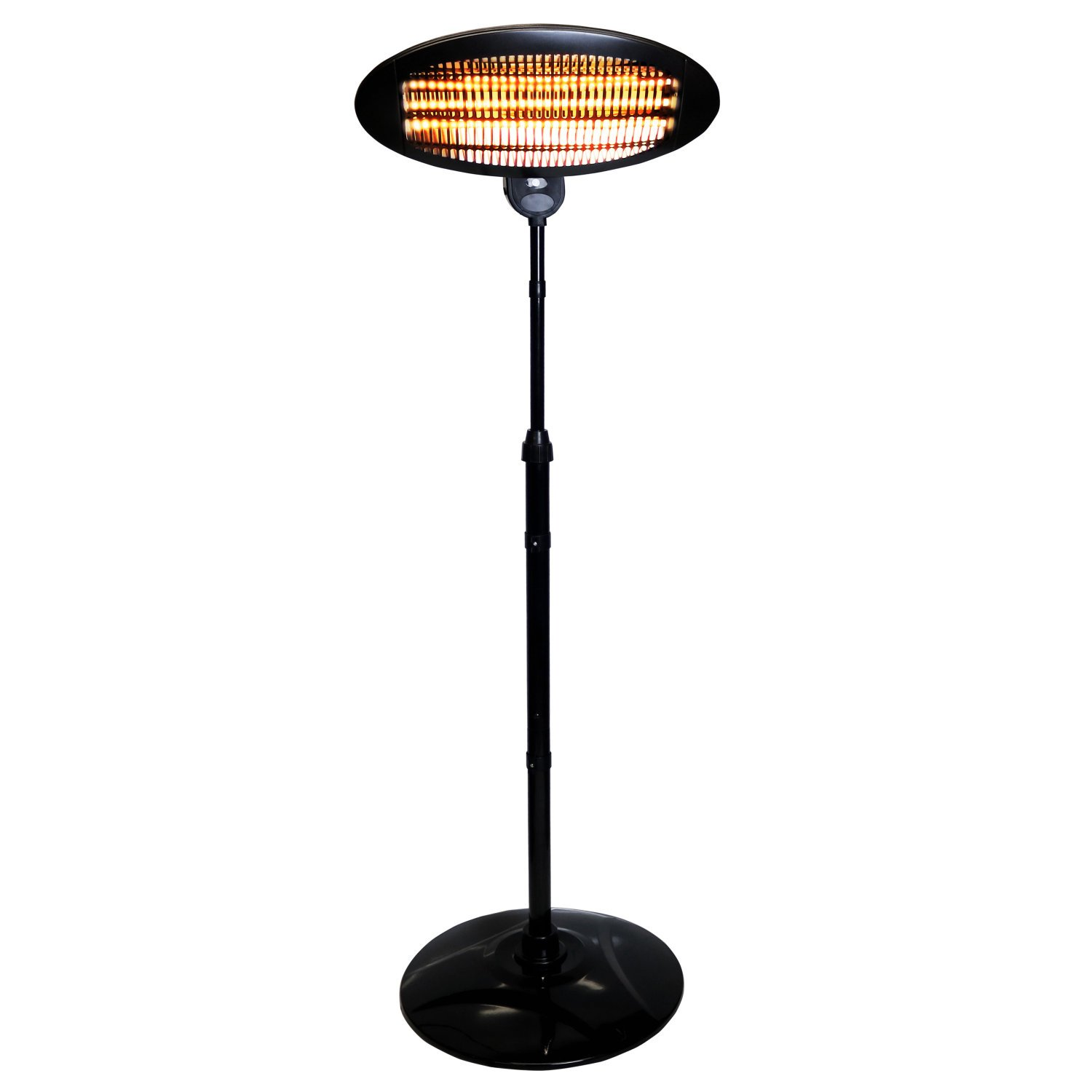 Oypla Electrical 2KW Quartz Free Standing Outdoor Electric Garden Patio  Heater