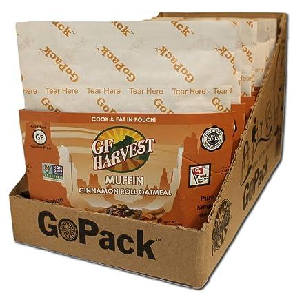 GF Harvest Gluten Free Savory - Muffin de avena, sin gluten ...