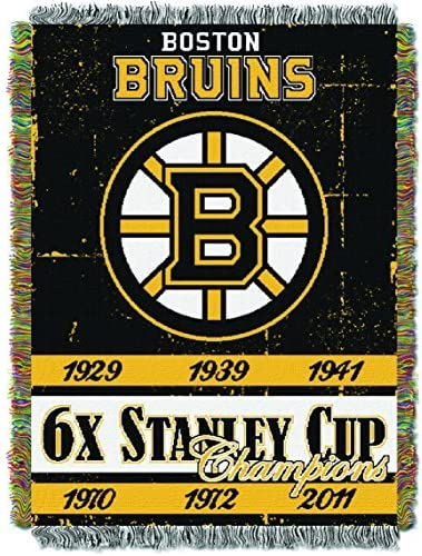 The Northwest Company NHL Unisex-Adult Licensed Tapestry Woven Throw