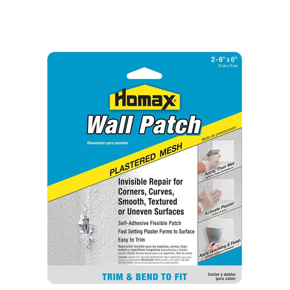 Amazon.com: Homax 041072022972 2 Paquete de parche de yeso ...