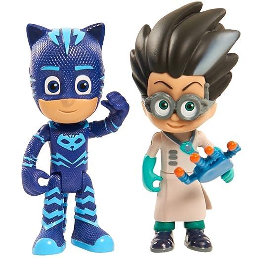 Disney PJM01- Figuras de juguete para niños, Multicolor, Dibujos animados, Acción / Aventura, 75 mm, 1 paquete con 2 figuras [modelo surtido]: Amazon.es: ...