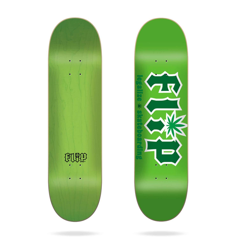 Multicolore Flip HKD Legalize Green 8.5 Skateboard Decks Mixte Adulte Taille Unique