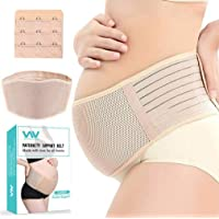 Maternity Belt, Pregnancy Support Belt, Back Support Protection- Breathable Belly Band That Provides Hip, Pelvic, Lumbar…