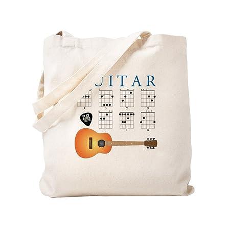 Acordes de Guitarra CafePress - 7 - Gamuza de bolsa de lona bolsa ...