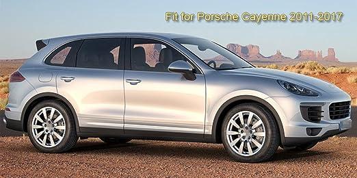Amazon.com: SPEEDLONG 4Pcs Car Mud Flaps Splash Guard Fender Mudguard for Porsche Cayenne 2011-2017 12 13 14 15 16: Automotive