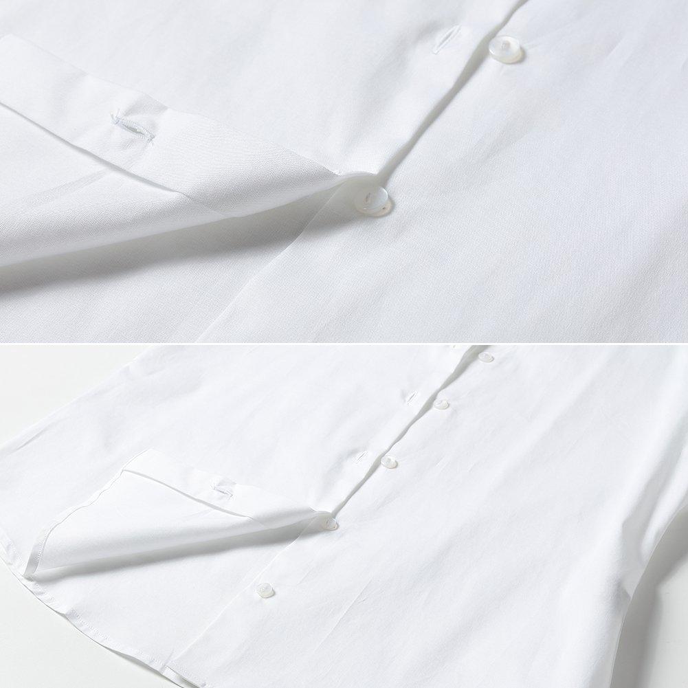 Manche Longue Couleur Unie Taille Ajust/ée Harrms Chemise Femme /Élastique Formelle et /Él/égant