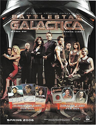 Battlestar Galactica Boomer Costume (2006 Rittenhouse Archives Battlestar Galactica Season 1 Complete Master Set with All Autographs Costumes Inserts & Case Incentives)