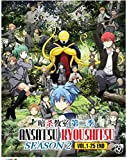 Ansatsu Kyoushitsu Season 2 (TV 1 - 25 End) (DVD, Region All) English Subtitles Japanese Anime