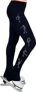 ny2 Sportswear Pattinaggio Artistico Pratica Pantaloni con Strass R224