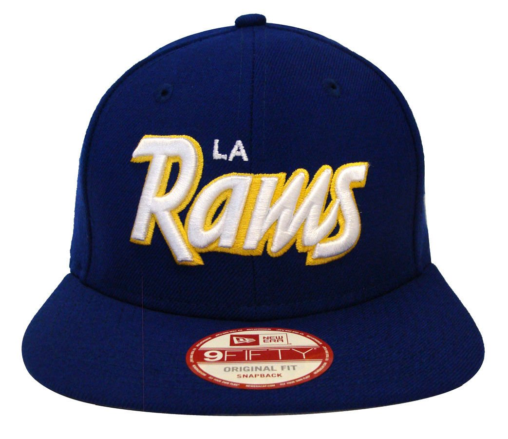 New Era NFL los angeles rams Script Old School equipo 9 FIFTY ...