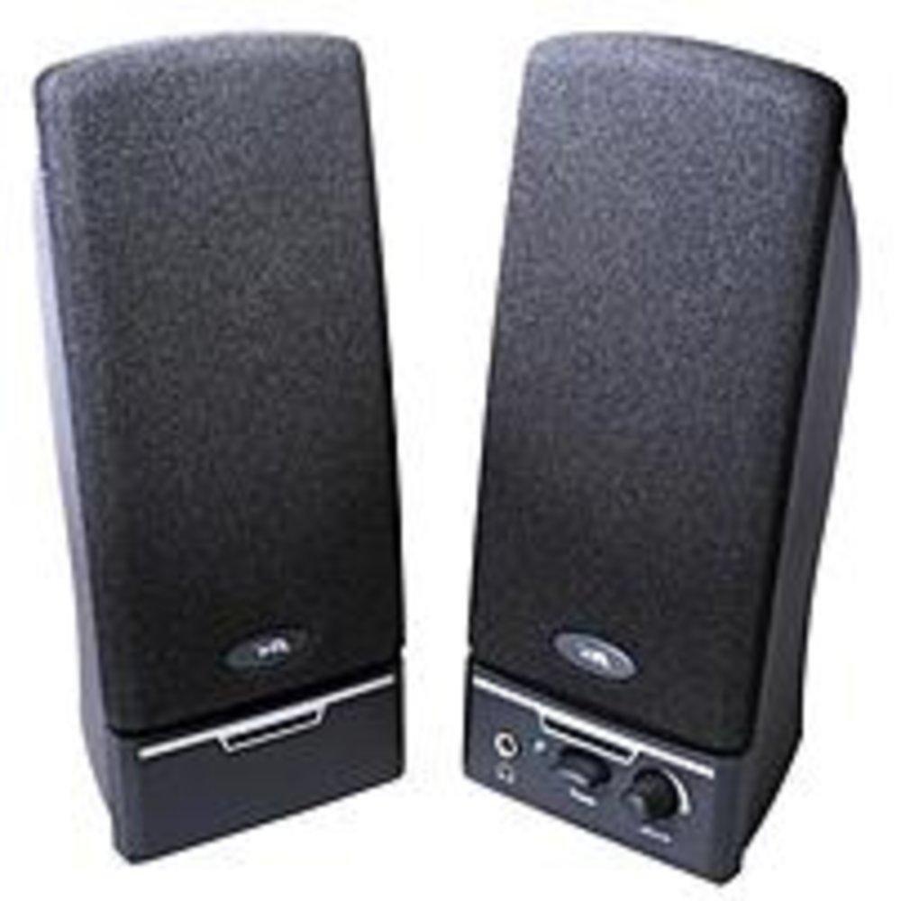 Cyber Acoustics CA-2014RB 4 Watts Multimedia Speaker System - 2 Speaker - Power on/off - Volume Control - Black consumer electronics