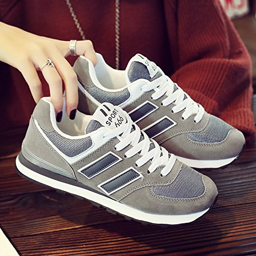 GUNAINDMX grey Match 627 Lovers Leisure deep Shoes Shoes Shoes Color Shoes Spring Flat All rIqwrOU