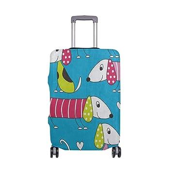 Funda para Maleta con diseño de Alfabeto de Animales, Funda de Viaje para niños y niñas: Amazon.es: Equipaje
