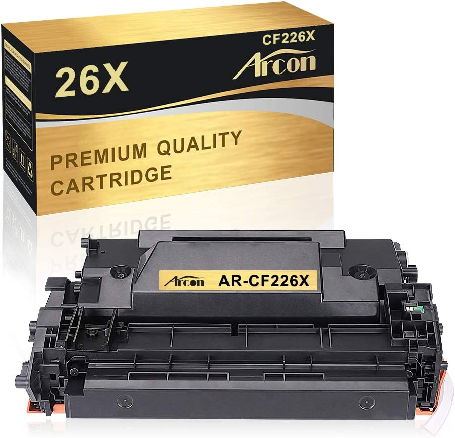 Arcon - Cartucho de tóner compatible con HP CF226X 26X CF226A 26A para HP Laserjet Pro M402DN M402DW M402N M402D HP Laserjet Pro MFP M426FDW M426DW HP M426FDN HP M426FDW M426FDW