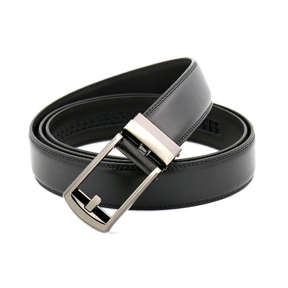 Chemstar Mens Dress Comfort Genuine Click Belt,Adjustable Leather Belt 27-46