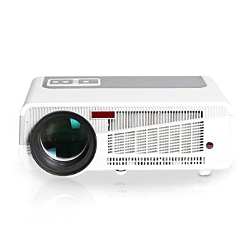 iCodis G7 MAX Proyector, 3000 Lumens LED, 30000 Horas de Vida útil de la lámpara, reproducción Full-HD, resolución nativa HD-Ready.