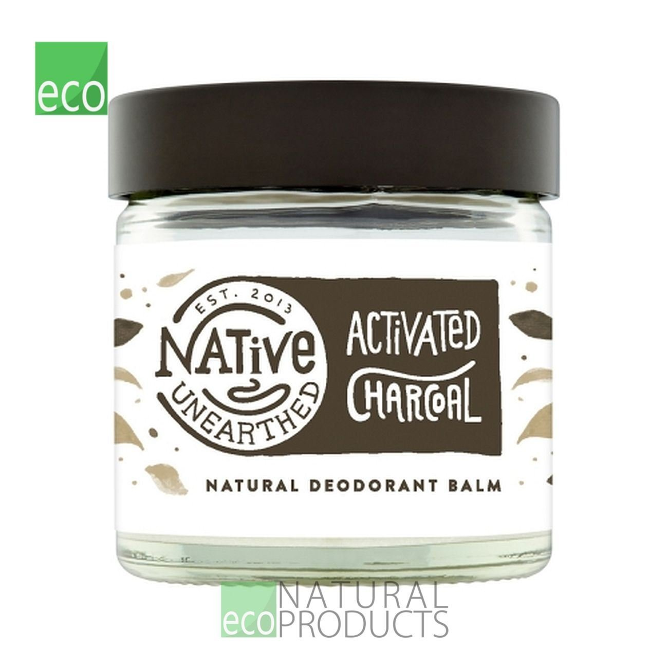Native Unearthed Natural Deodorant, Activated Charcoal, 60 ml 90503