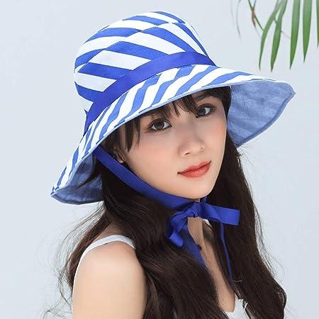 zhuzhuwen 2019 Sombrero de Pescador Raya Streamer protección UV ...
