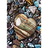 2PC DIY Diamond 5D Embroidery Paintings,Heart Stone Oucan 5D Full Drill Embroidery Painting Kit 5D Decorating Wall Stickers 5D DIY Diamond Painting Set for Living Room (40 * 30cm )