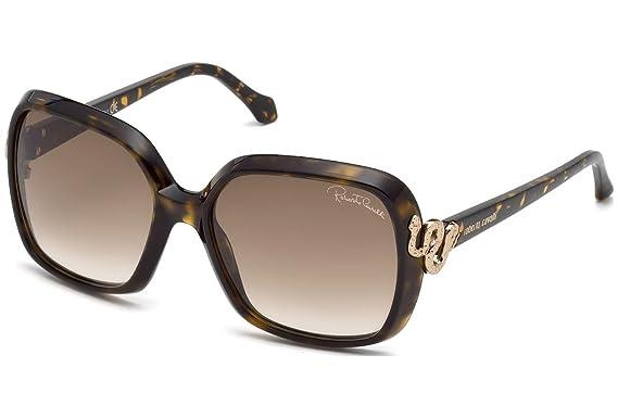 roberto cavalli Roberto Cavalli Damen Sonnenbrille » RC1016«, braun, 52F - braun/braun