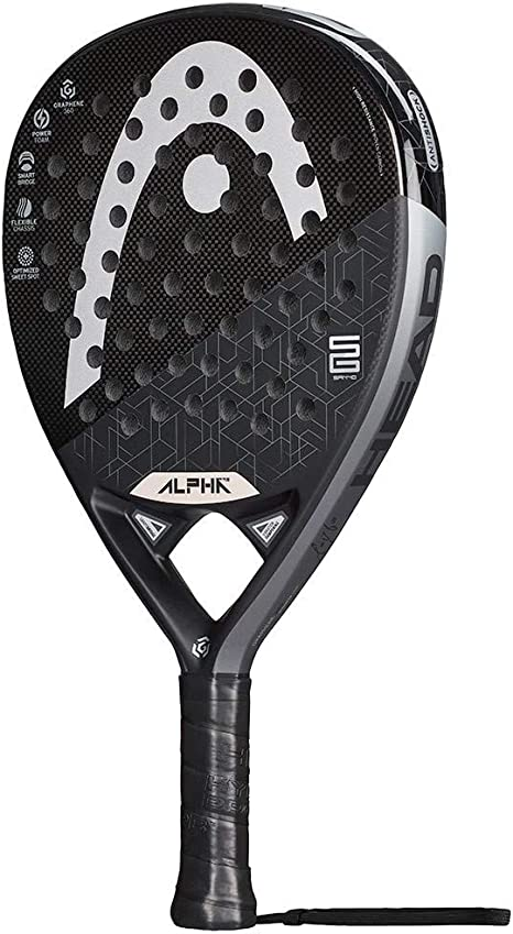 Head Graphene 360 Alpha Pro, Adultos Unisex, Negro Gris, 38 mm ...