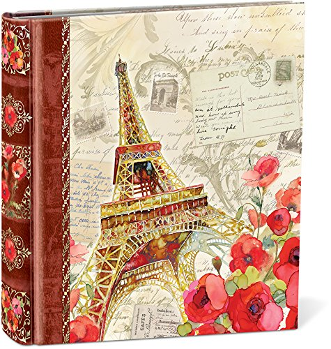Punch Studio, Paris Sparkle, Photo Album, Holds 200 4 by 6 inch Photos
