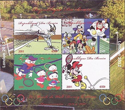 Benin - 2011 London Olympics, Disney, Bugs Bunny-4 Stamp ()