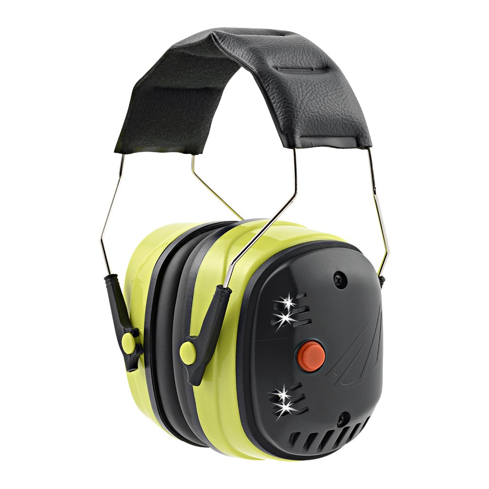 Panther Vision UTILITY LIGHTS LED Lighted Safety Earmuffs 25 dB N.R.R. Ear Protection (EM-6229)