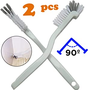 AncBace Dish Brush Kitchen Cleaning Brush Bottle Bathroom Scrub Brushes Sink Household Pot Pan Edge Corners Tile Lines Brush with Stiff Bristles