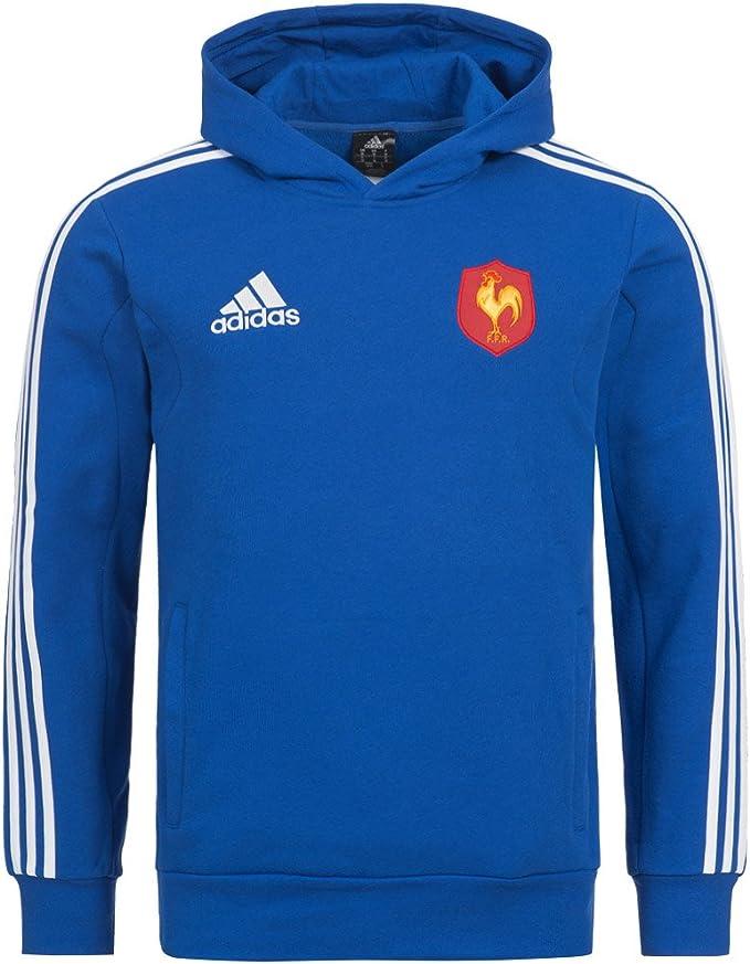 adidas Felpa di Rugby Squadra di Francia FFR Blu XS: Amazon