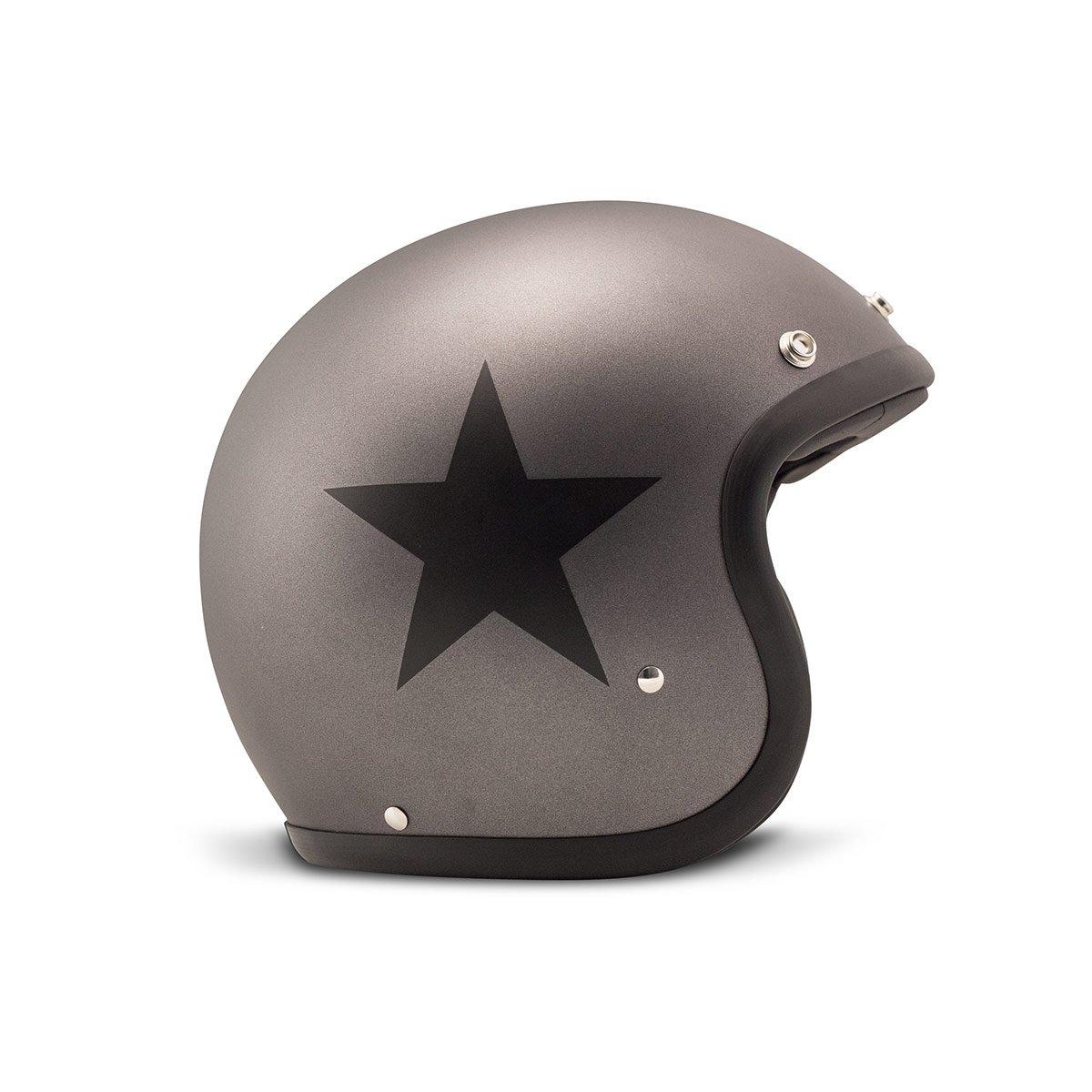 DMD 1jts30000sr01Helm Motorrad, Star grey, Größe XS