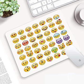 Alfombrilla Ratón 320x250 mm,Emoji, conjunto de emoticones ...