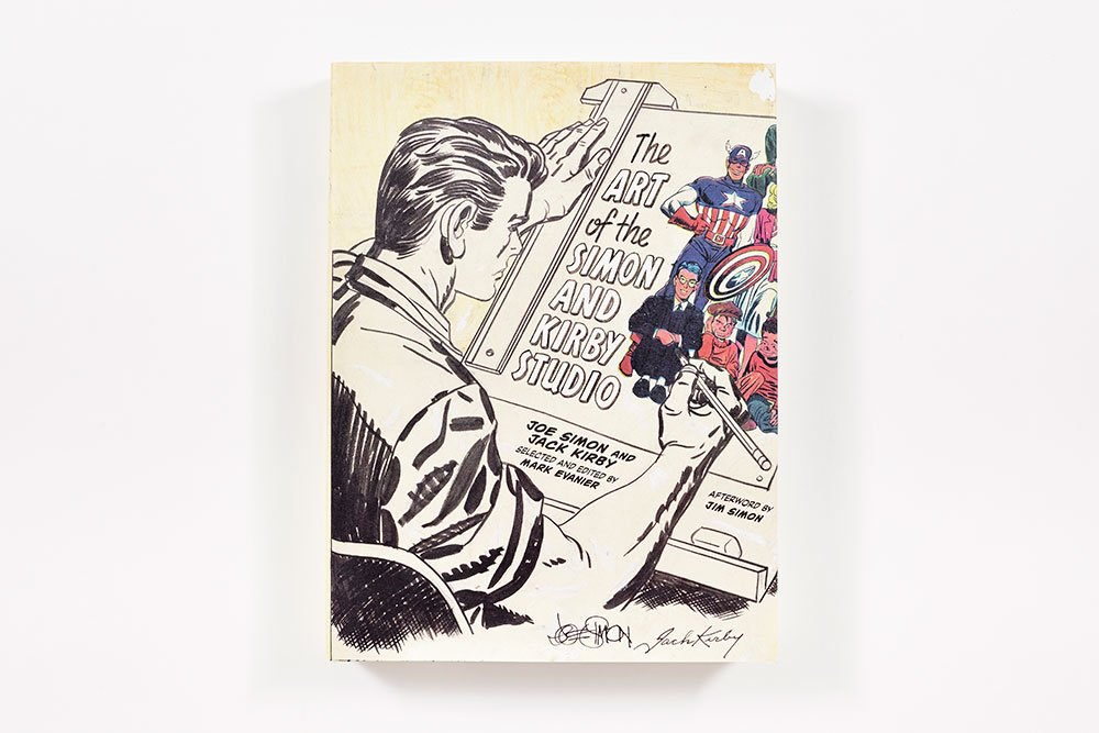 Amazon Fr The Art Of The Simon And Kirby Studio Joe Simon Livres