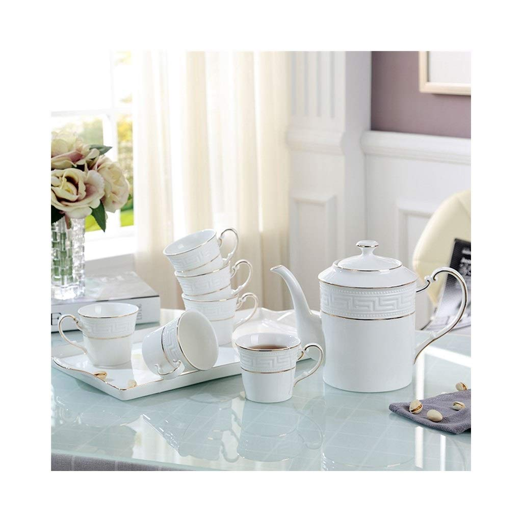 ZALIANG Taza con Juego de té de Porcelana China Juego de Tazas de ...
