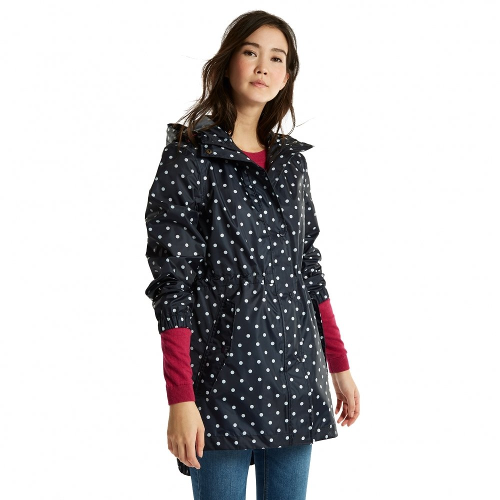 Joules Ygolightly Jacket 8 Reg Navy Spot by Joules (Image #5)