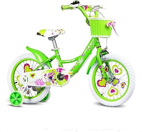 Great St. DGF Bicicleta para Niños 16/14/12/18 Bicicleta para ...