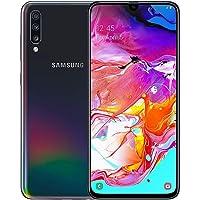 """Samsung Galaxy A70 128GB/6GB SM-A705M/DS 6.7"""" HD+ Infinity-U 4G/LTE Smartphone Desbloqueado de fábrica (versión Internacional), Negro"""