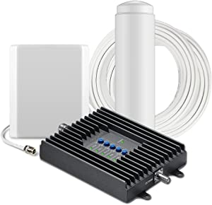 SureCall Fusion4Home Cell Phone Signal Booster Kit for Home and Office - Verizon, AT&T, Sprint, T-Mobile 3G, 4G and LTE, Covers Up to 3,000 Sq Ft