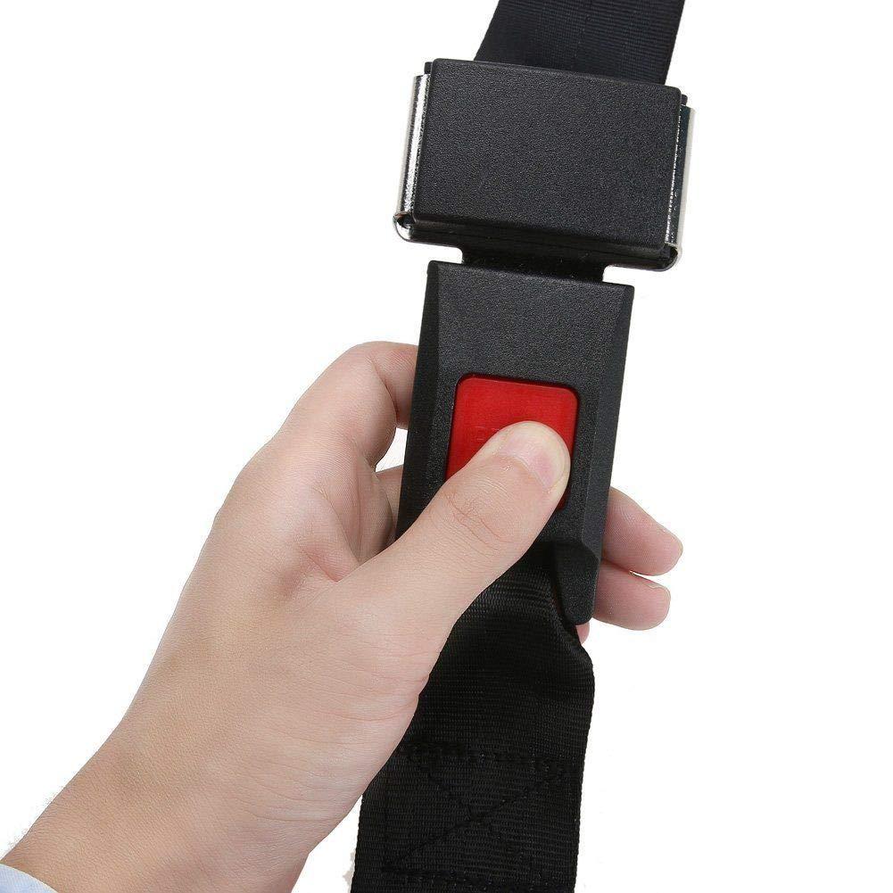 2 Point Adjustable Car Seat Safety Belt Harness Kit Go Kart UTV Buggie Pack of 2