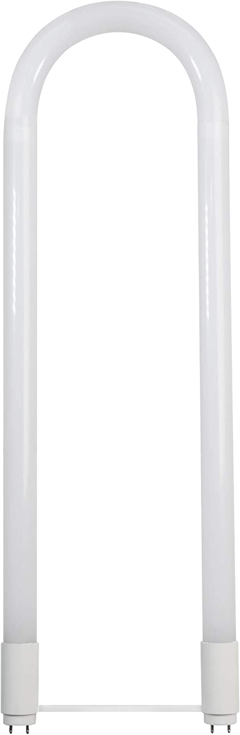 Feit Electric T848/840/AB/U6/LED 32W Equivalent U-Bend Linear T8, Fluorescent Replacement, Direct or Ballast Bypass LED Tube Light Bulb, 6